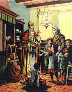 versaufsagen vor dem weihnachtsmann
